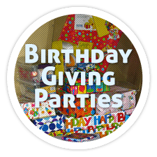 Family-to-Family Birthday Giving Parties
