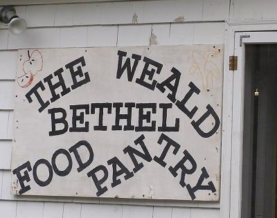Food Pantry in Washington County, Maine