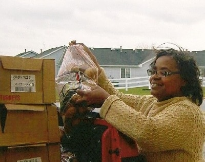 Food donations in Pembroke, Illinois