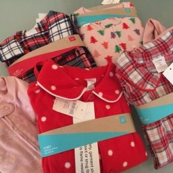 Donated Winter Pajamas