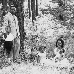 MLK and family