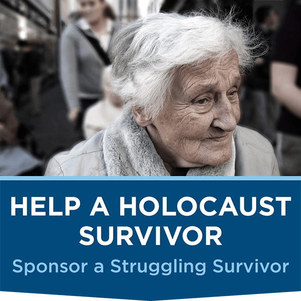 Help a Holocaust Survivor in need
