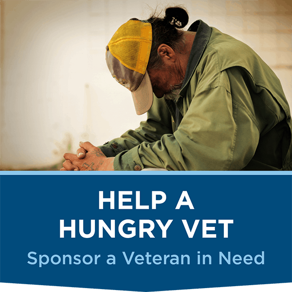 Help a Hungry Veteran in need