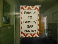 Gap Pantry sign